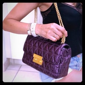 MICHAEL Michael Kors Bags - Michael kor's Quilted Sloan!